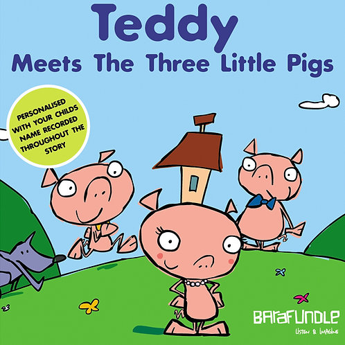 Teddy Meets The Three Little Pigs - Download