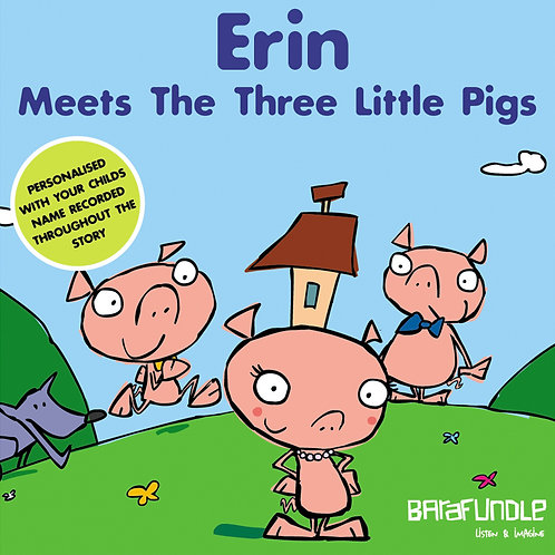 Erin Meets The Three Little Pigs - Download