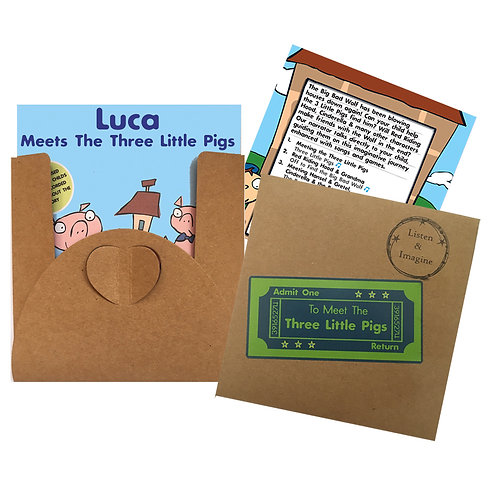 Luca Meets The Three Little Pigs - Voucher