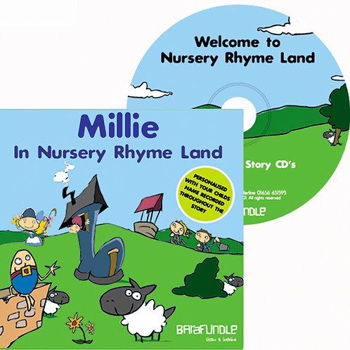 Millie In Nursery Rhyme Land - CD
