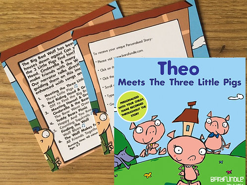 Theo Meets The Three Little Pigs - Voucher
