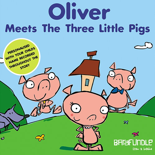 Oliver Meets The Three Littls Pigs - Download