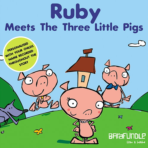Ruby Meets The Three Littls Pigs - Download