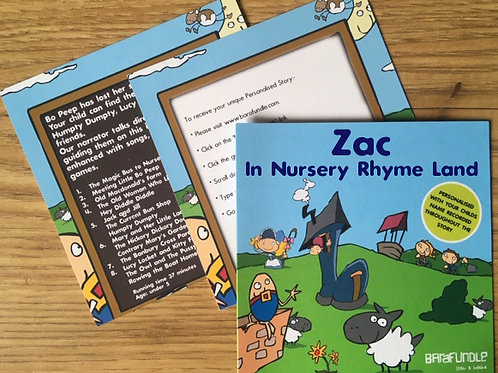 Zac In Nursery Rhyme Land - Voucher