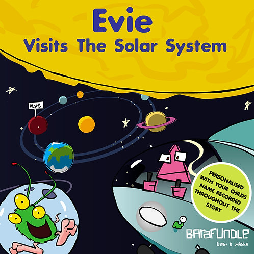 Evie Visits The Solar System