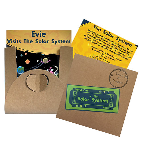 Evie Visits The Solar System - Voucher