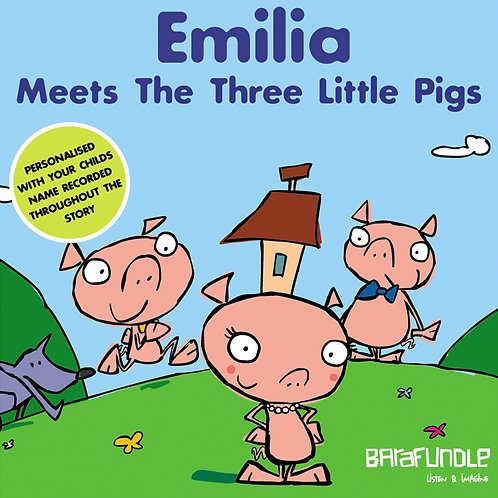 Emilia Meets The Three Little Pigs - Download