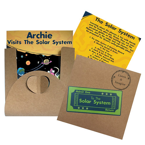Archie Visits The Solar System - Voucher