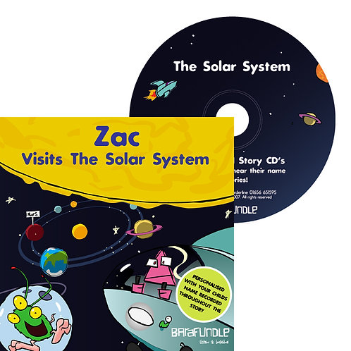 Zac Visits The Solar System - CD