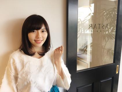 女優としてご活躍中の市瀬美和さんご来店いただきました
