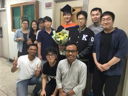 2016년도 후기 졸업식