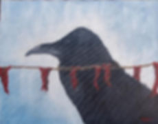 503_Raven_with_Prayer_Flags.jpg