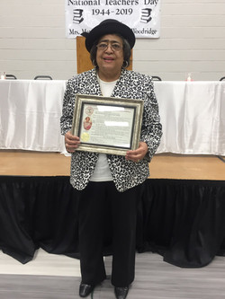 Mrs. Cora Blakely a Phillips County Libr