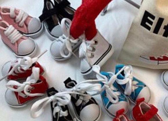 Elf size lace up shoes