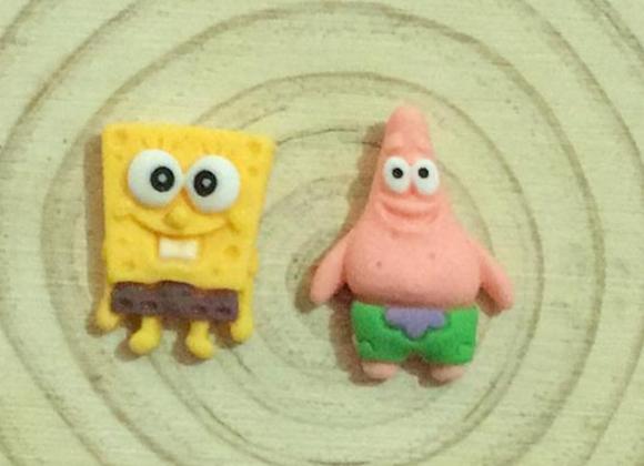 Sponge Bob stud earrings