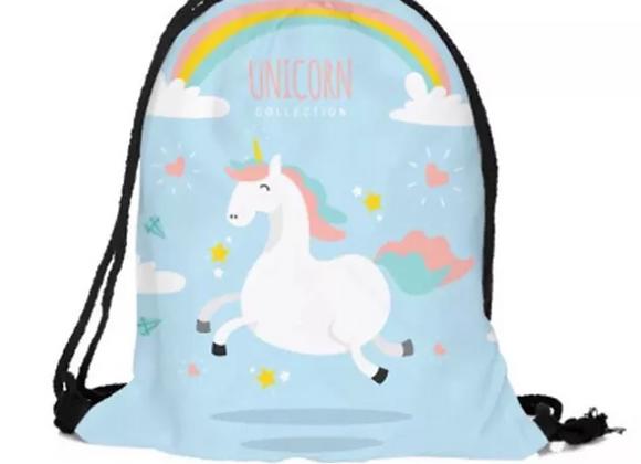 Unicorn Draw String Bag