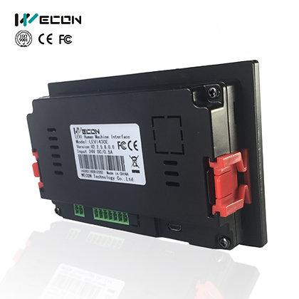 Wecon HMI ultra delgado de 4.3 pulgadas LEVI2043E