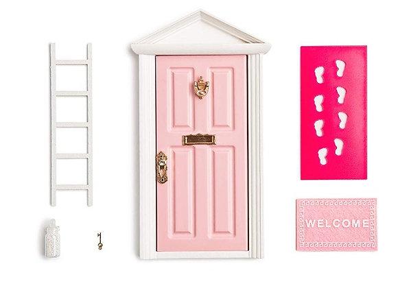 Pink fairy door starter kit