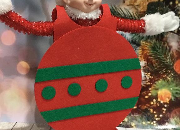 Bauble elf costume