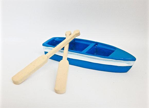 Fairy Garden Miniature Boat and Oars