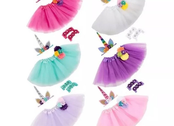 Unicorn headband and skirt toddler