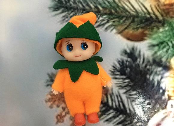 Halloween toddler elf