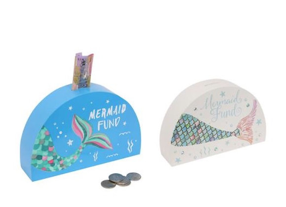 Mermaid money box