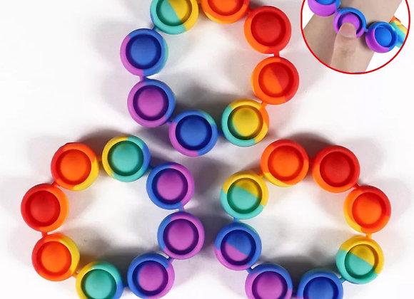 Fidget sensory pop it ring bracelet *PRE ORDER*