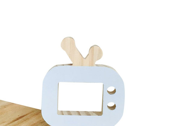 Wooden TV Decoration