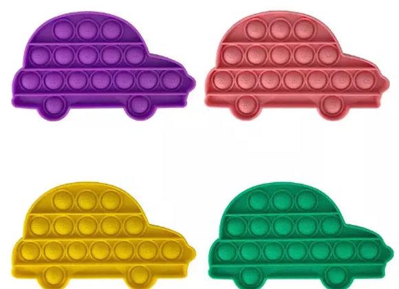 Car shaped pop it's fidget toy