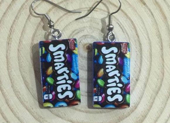 Handmade smarties earrings