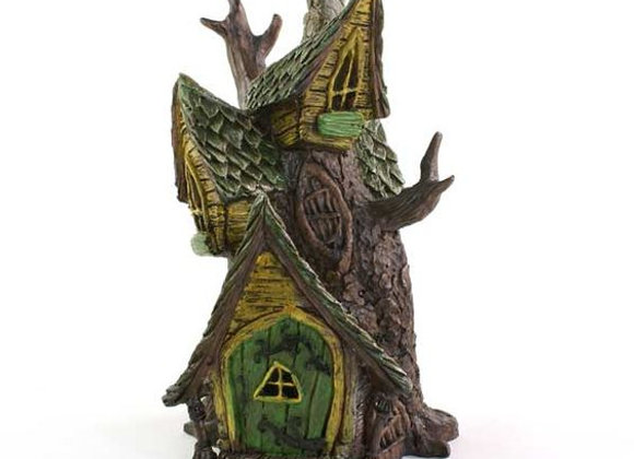 Fiddlehead Fairy Tree Stump House