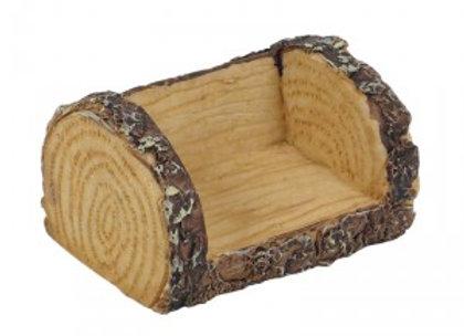 Fairy Garden Miniature Log Chair