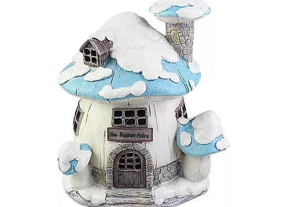 Blue frozen fairy house