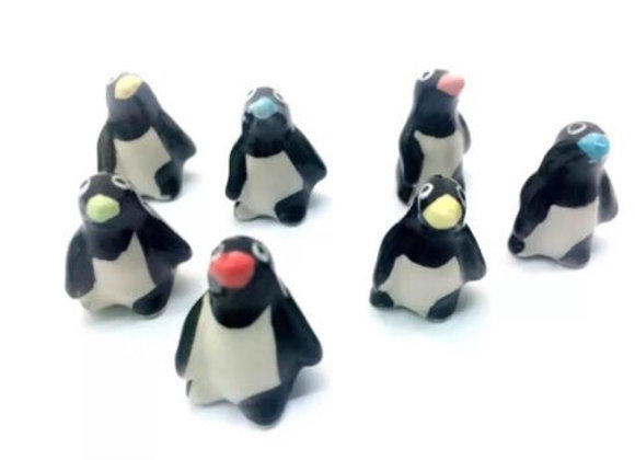 Fairy Garden miniature set of 2 random penguins
