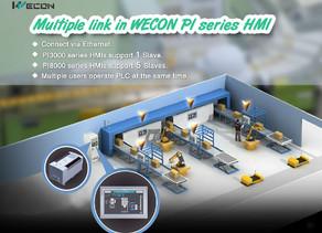 Multiple link in WECON PI Series HMI