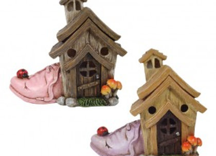 Fairy Garden Shoe House