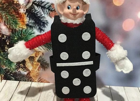 Elf domino costume