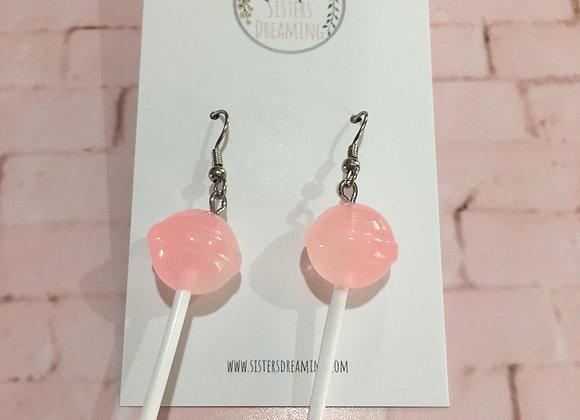 Handmade lollipop earrings