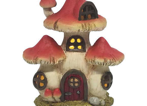 LED Mini Mushroom Fairy House