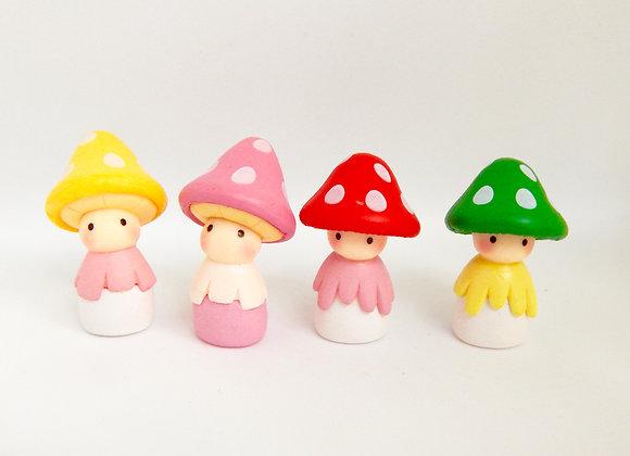 Fairy Garden Miniature Mushroom Friends