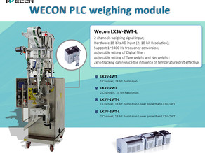 Wecon PLC Weighing Modules