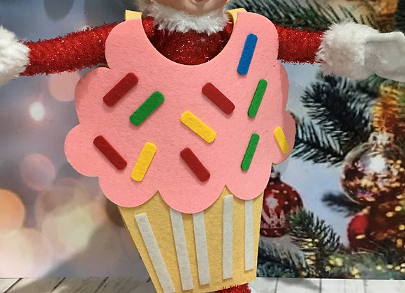 Elf cupcake costume