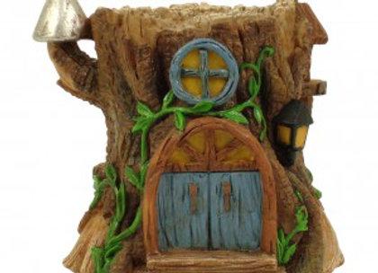 Fairy Garden Tree Stump House