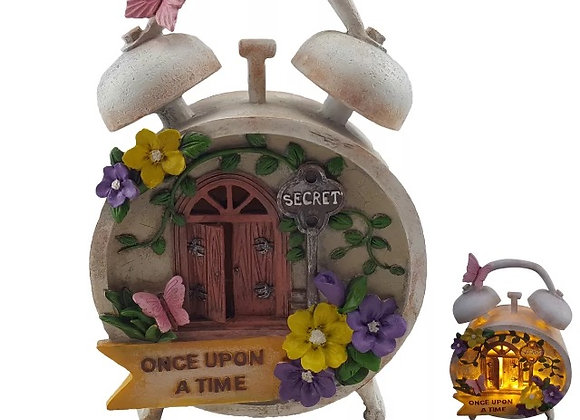 Fairy Garden Once Upon a Time Clock