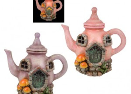 LED Fairy Garden Teapot House