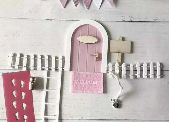 Pink fairy door start set