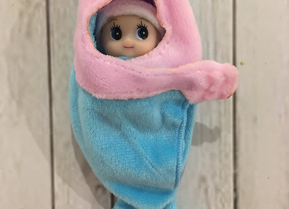 Dolphin wrap for baby or toddler elf