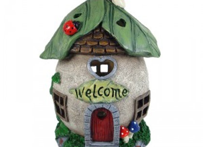 Fairy Garden Welcome House