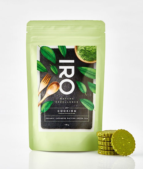 IRO Thé Matcha Bio Premium for Cooking 100g